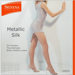 6635 - METALIC SILK